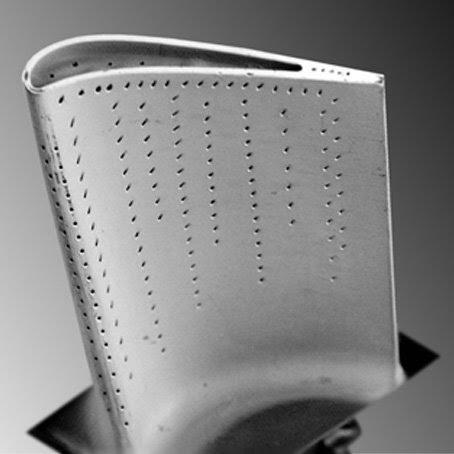 Denture avec un fond de dent en R0,1mm